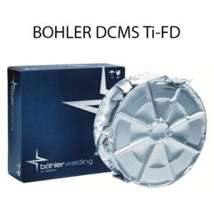 Проволока порошковая BOHLER DCMS Ti-FD
