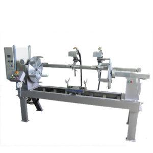 Установка АС305-2 для сварки цилиндрических изделий одновременно двумя горелками