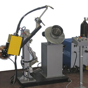 Установка УДС711 для автоматической MIG/MAG сварки автомобильных колес
