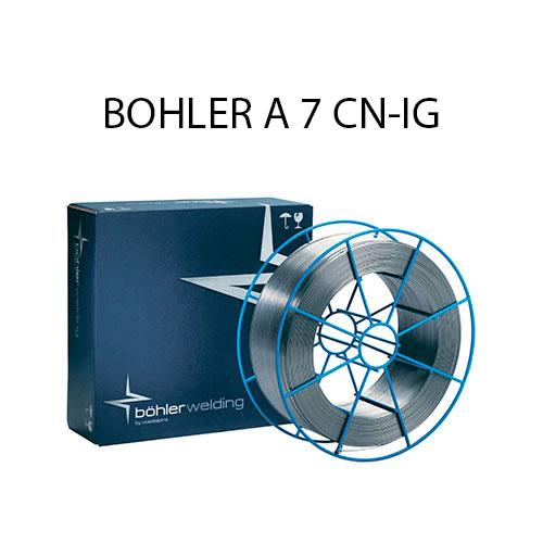 Проволока присадочная BOHLER A 7 CN-IG