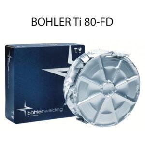 Проволока порошковая BOHLER Ti 80-FD