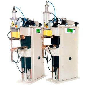 Машины для контактной точечной и рельефной сварки трехфазным постоянным током TECNA 6101N-6103N