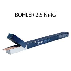 Проволока присадочная (пруток) BOHLER 2.5 Ni-IG