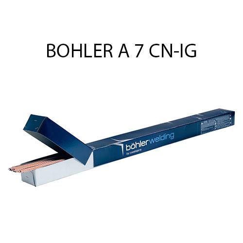 Проволока присадочная (пруток) BOHLER A 7 CN-IG