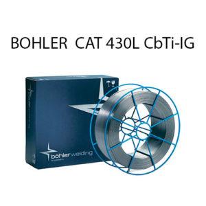 Проволока присадочная BOHLER  CAT 430L CbTi-IG