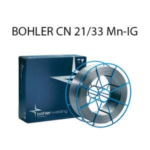 Проволока присадочная BOHLER CN 21/33 Mn-IG