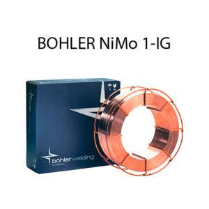 Проволока присадочная BOHLER NiMo 1-IG