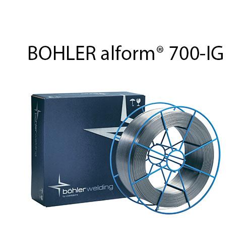 Проволока присадочная BOHLER alform® 700-IG