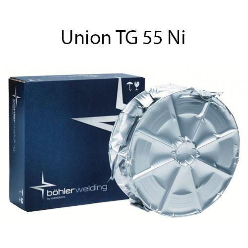 Порошковая проволока BOHLER Union TG 55 Ni