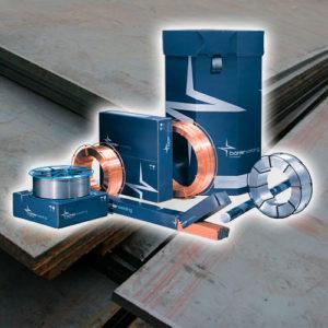 Материалы для нелегированных и низколегированных сталей
