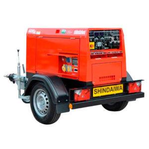Сварочный дизельный  агрегат  SHINDAIWA DGW400DMK/RU
