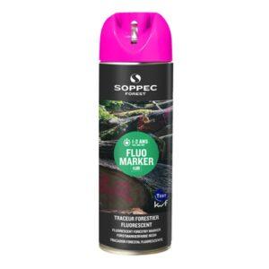 Маркер для древесины, аэрозольный, флуоресцентный Soppec Fluo Marker